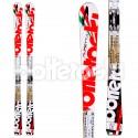 Ski Bottero Ski Alpetta + fixations V412 FRee LTD + plaque Vist Speed Look TT