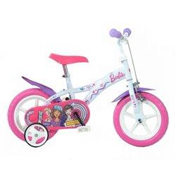 Bicicleta Barbie para niñas 12