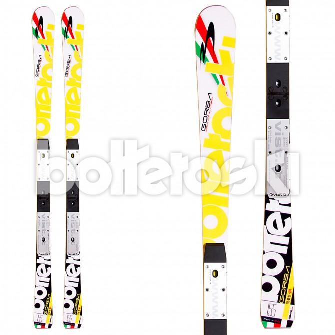 sci Bottero Ski Gorba SL + attacchi Vist V614 Free LTD + piastra WC Race 14 Alu