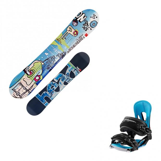 snoboard Head Glam Rocka + attacchi Nx Fay II