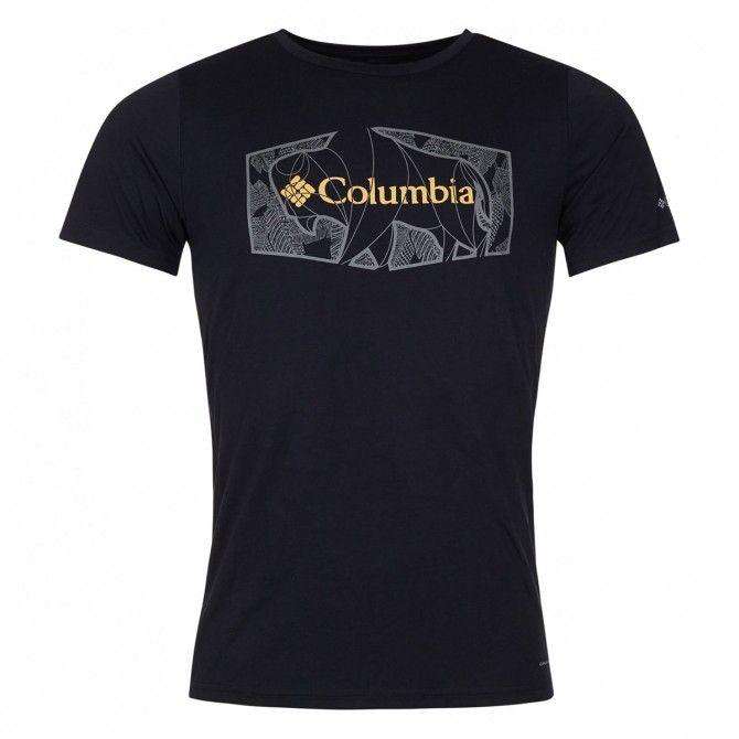 T-shirt Columbia Terra Vale Black Roam Hex