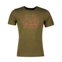 T-shirt Columbia M Bluff Mesa New Olive CSC W