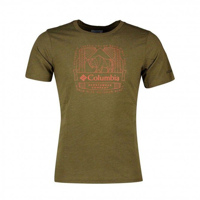 T-shirt Columbia M Bluff Mesa New Olive CSC W
