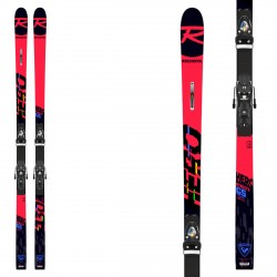 Sci Rossignol Hero Athlete 2021 GS (R22) con attacchi Px 18 Wc Rockerace