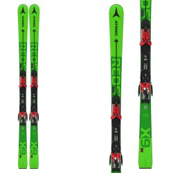 Sci Atomic Redster X9 RS 2021 con attacchi X 16 VAR verde