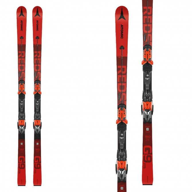 Sci atomic Redster G9 Fis 2021 con attacchi X 12 var red