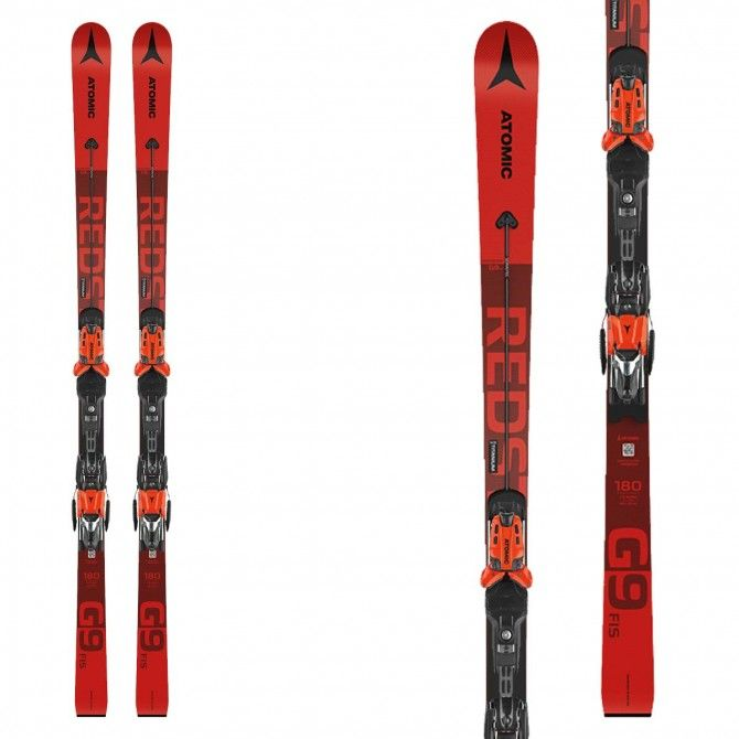 Sci Atomic Redster G9 Fis junior con attacchi X 12 Var