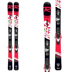 Sci junior Rossignol Hero Jr 100-130 (Kid-X) con attacchi Kid 4 Gw B76