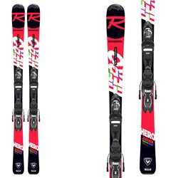 Sci junior Rossignol Hero Jr 130-150 (Xp Jr) con attacchi Xpress 7 Gw B83