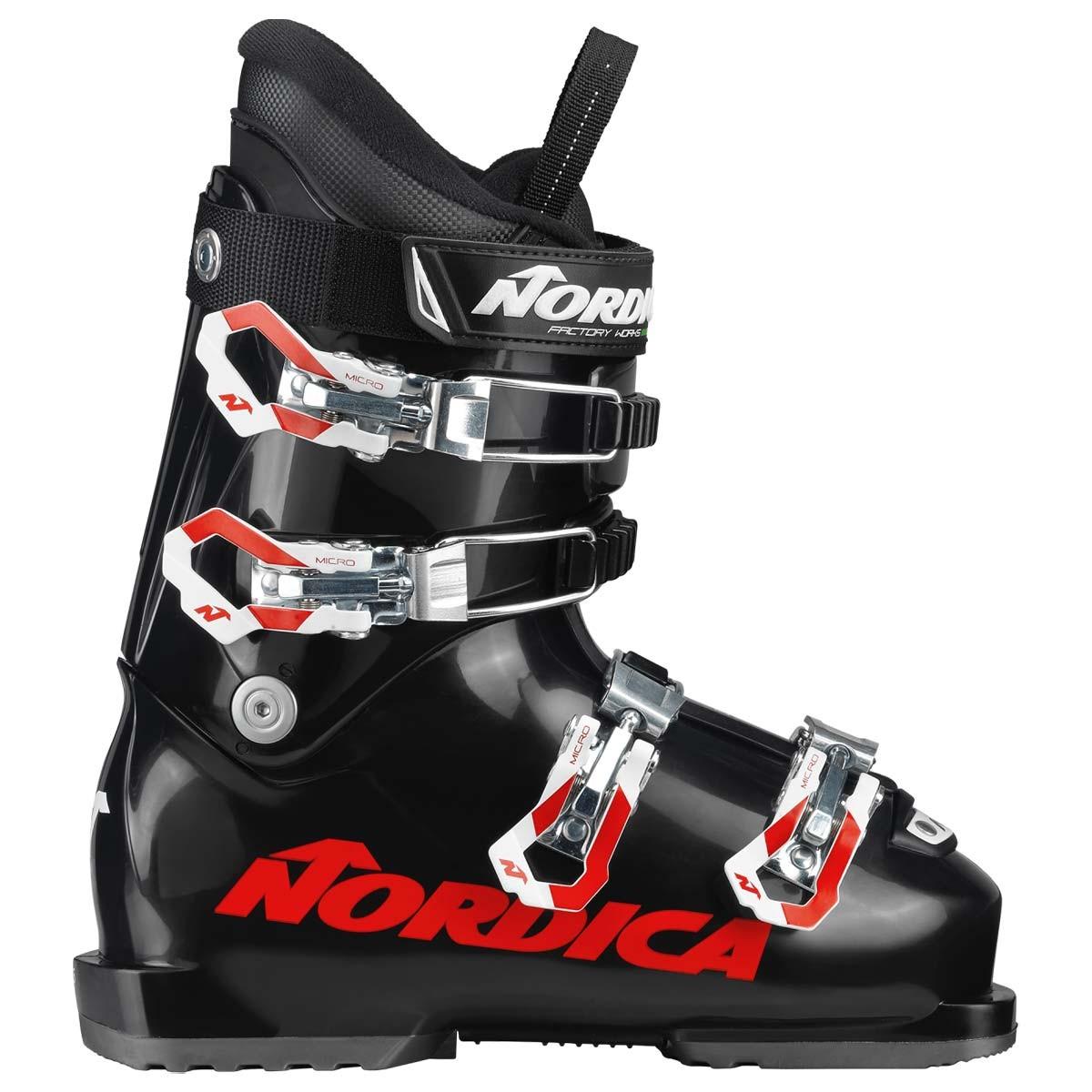 Scarponi da sci da bambino Nordica Dobermann GP 60 (Colore: Black, Taglia: 24)