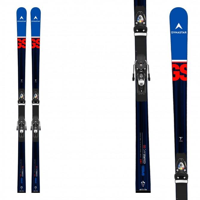 Sci Dynastar Speed Course WC GS con attacchi Spx 15 Rockerace e piastra R22- sci racing da slalom gigante - modello inverno 2021