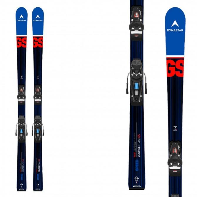 Sci Dynastar da ragazzo Speed Team SL Pro con attacchi Nx 10 e piastra R21- sci racing da slalom gigante - modello inverno 2021