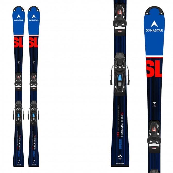 Sci Dynastar da bambino Speed Team SL Pro con attacchi Nx 10 e piastra R21- sci racing da slalom - modello inverno 2021