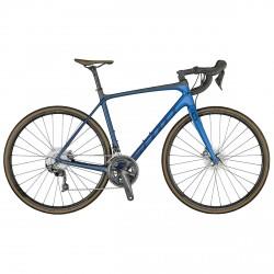 Bike Racing Scott Addict 10 Disc preview 2021 bleu