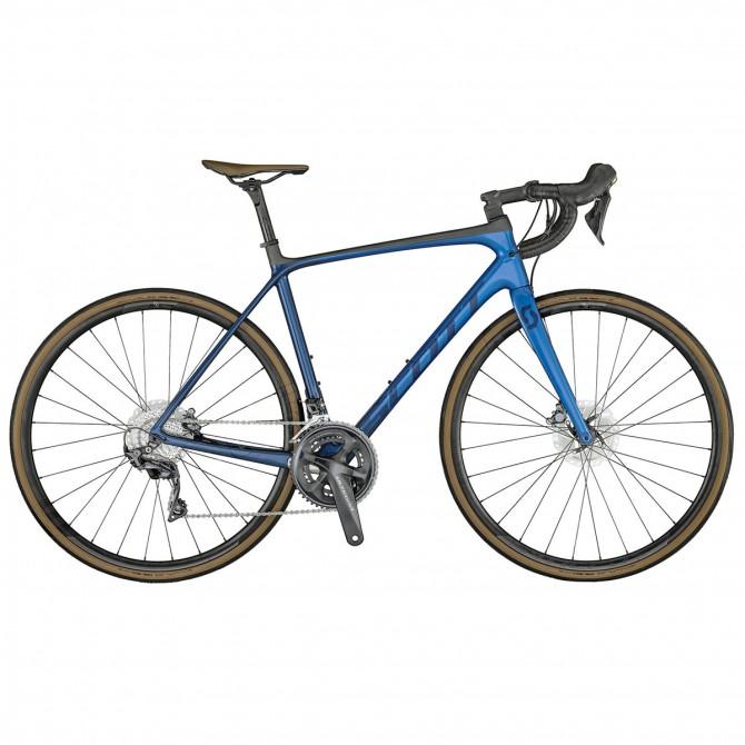 Bici da corsa Scott Addict 10 Disc anteprima 2021 blue