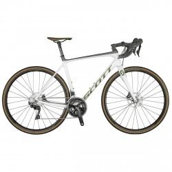 Competir con la bici de Scott Addict disco 20 Vista Previa blanco perla 2021