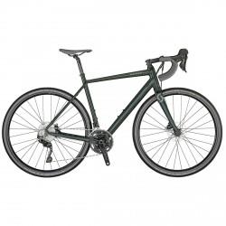 vélo de course Scott Speedster Gravel 30 Aperçu 2021 vert
