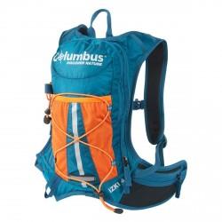 Backpack man hiking Columbus Izki 4 green-orange oil