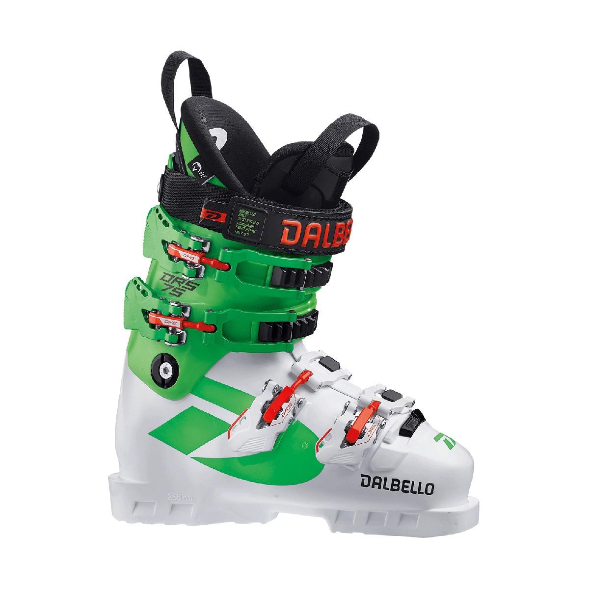 Scarponi Sci Dalbello DRS 75 (Colore: white-race green, Taglia: 23.5)