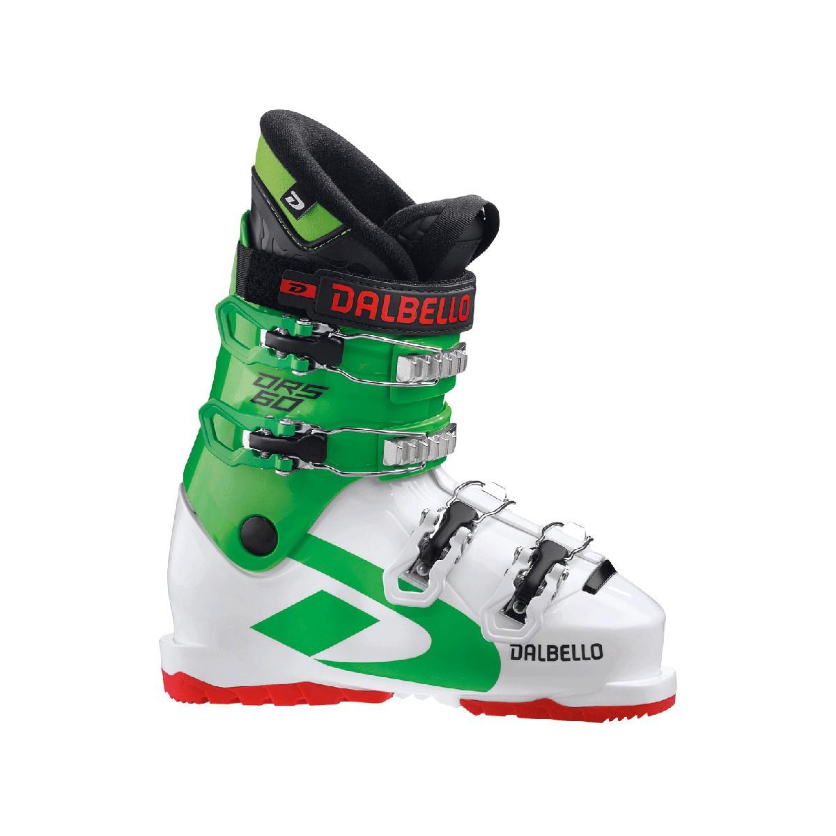 Scarponi sci Dalbello DRS 60 (Colore: white-race green, Taglia: 20.5)