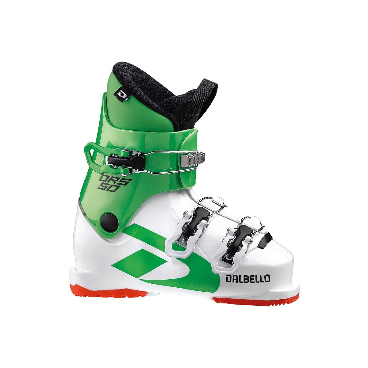 Scarponi Sci Dalbello DRS 50 (Colore: white-race green, Taglia: 20.5)