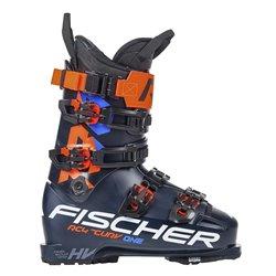 Botas de esquí Fischer RC4 El Curv Uno de vacío 130 Paseo azul oscuro