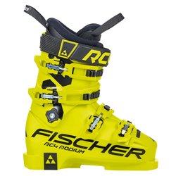 botas de esquí infantil Fischer RC4 Podium 70 amarillo negro