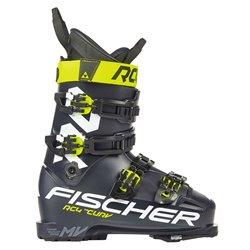Scarponi sci Fischer RC4 The Curv 110 Vacuum Walk nero giallo