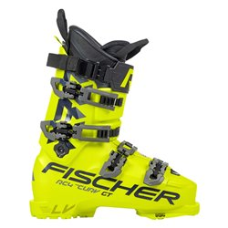 Ski boots Fischer RC4 The Curv GT 130 Vacuum Walk yellow black