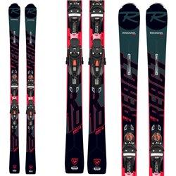 Ski Rossignol React 10 Ti (Konect) avec Nx 12 attaques Konect Gw B80