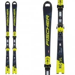 Fischer RC4 WC SL Ski FEMMES avec des attaques Z17