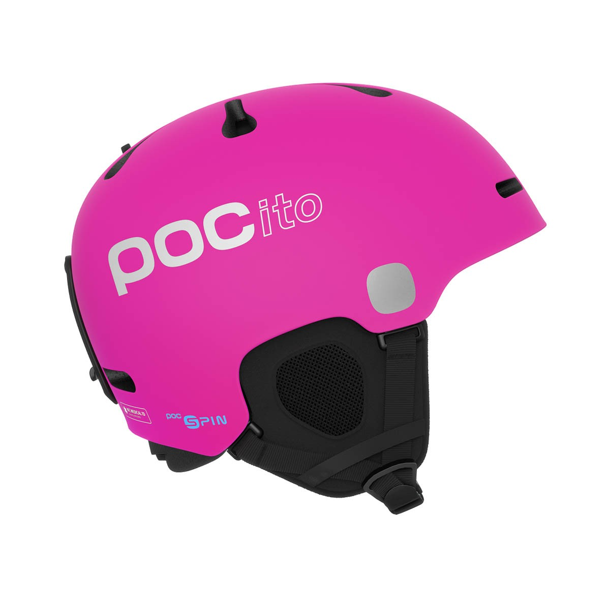 Casco sci Poc Pocito Fornix Spin (Colore: fluorescent pink, Taglia: 5558)