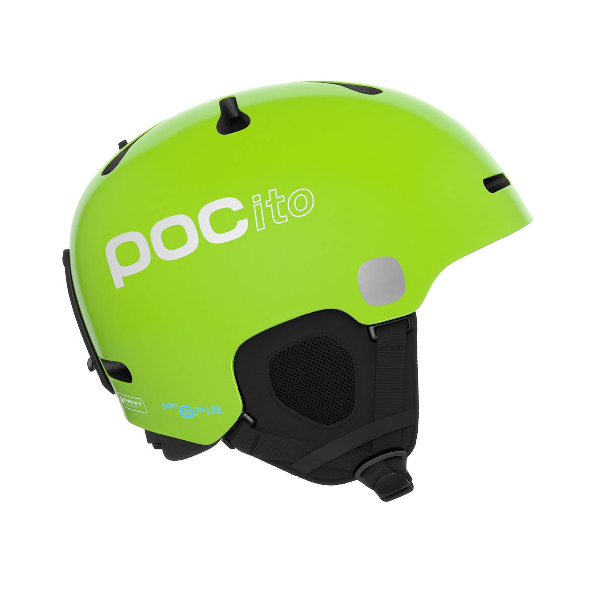 Casco sci Poc Pocito Fornix Spin (Colore: fluorescent yellow/green, Taglia: 5154)