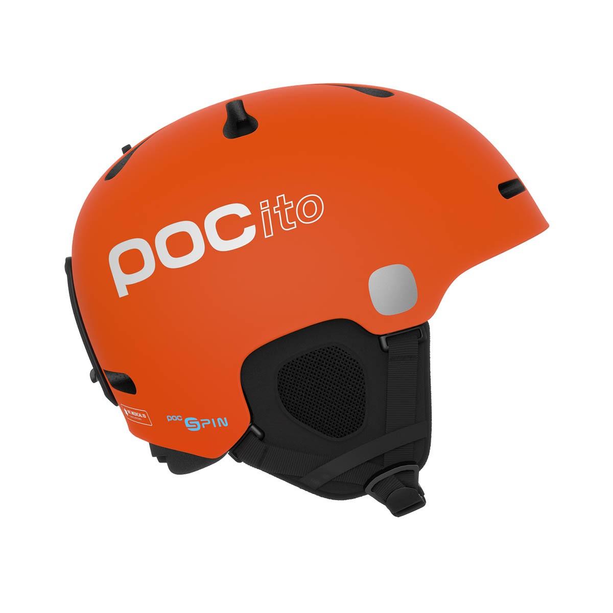 Casco sci Poc Pocito Fornix Spin (Colore: fluorescent orange, Taglia: 5558)