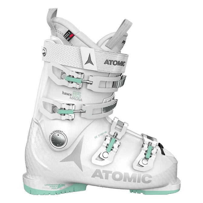 Ski boots Atomic Hawx 85 W Magna green white woman