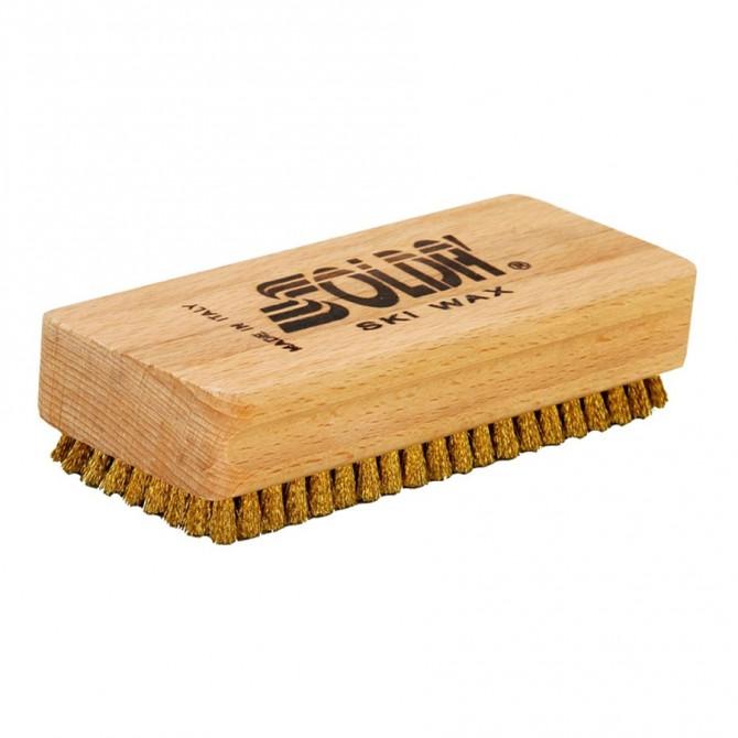 Spazzola piana in ottone Soldà