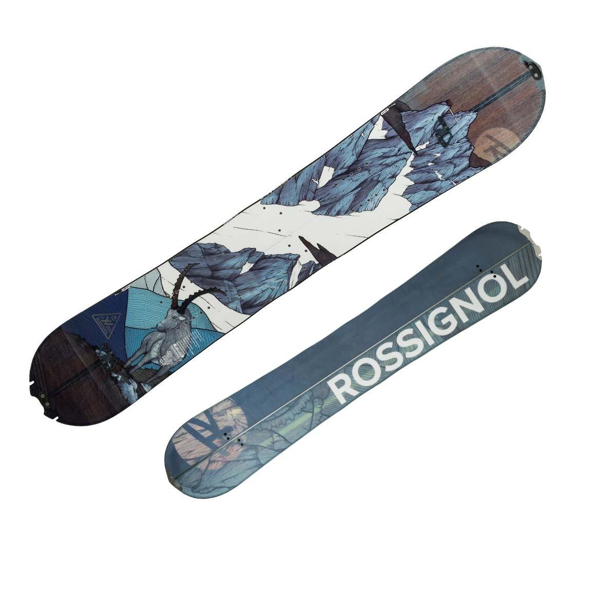Snowboard Rossignol XV Splitboard da uomo (Colore: marrone fantasia, Taglia: 159)