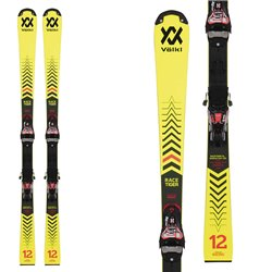 Ski Volkl Racetiger SL R JR W / s plate with bindings Race 8
