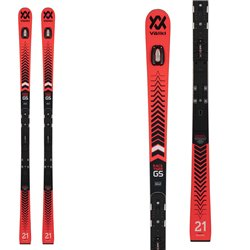 Ski Volkl Racetiger GS R 21W PL 10mmw attaques UVO avec X Comp 16 Rouge Noir