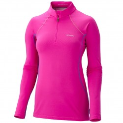 sueter interior Columbia Baselayer Midweight 1/2 zip mujer