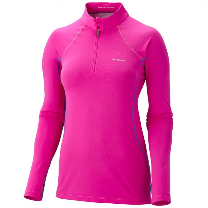 maglia intimo Columbia Baselayer Midweight 1/2 zip Donna
