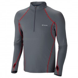 pull lingerie Columbia Baselayer Midweight 1/2 zip homme