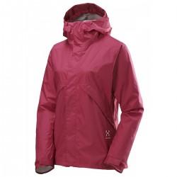 chaqueta de lluvia trekking Haglofs Bliss mujer