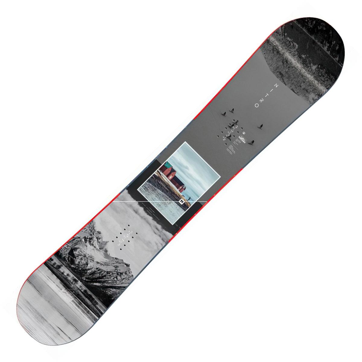 Snowboard Nitro Team Exposure Gullwing blu fantasia (Colore: blu fantasia, Taglia: 159)