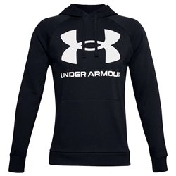 Felpa Under Armour Rival Big Logo da uomo