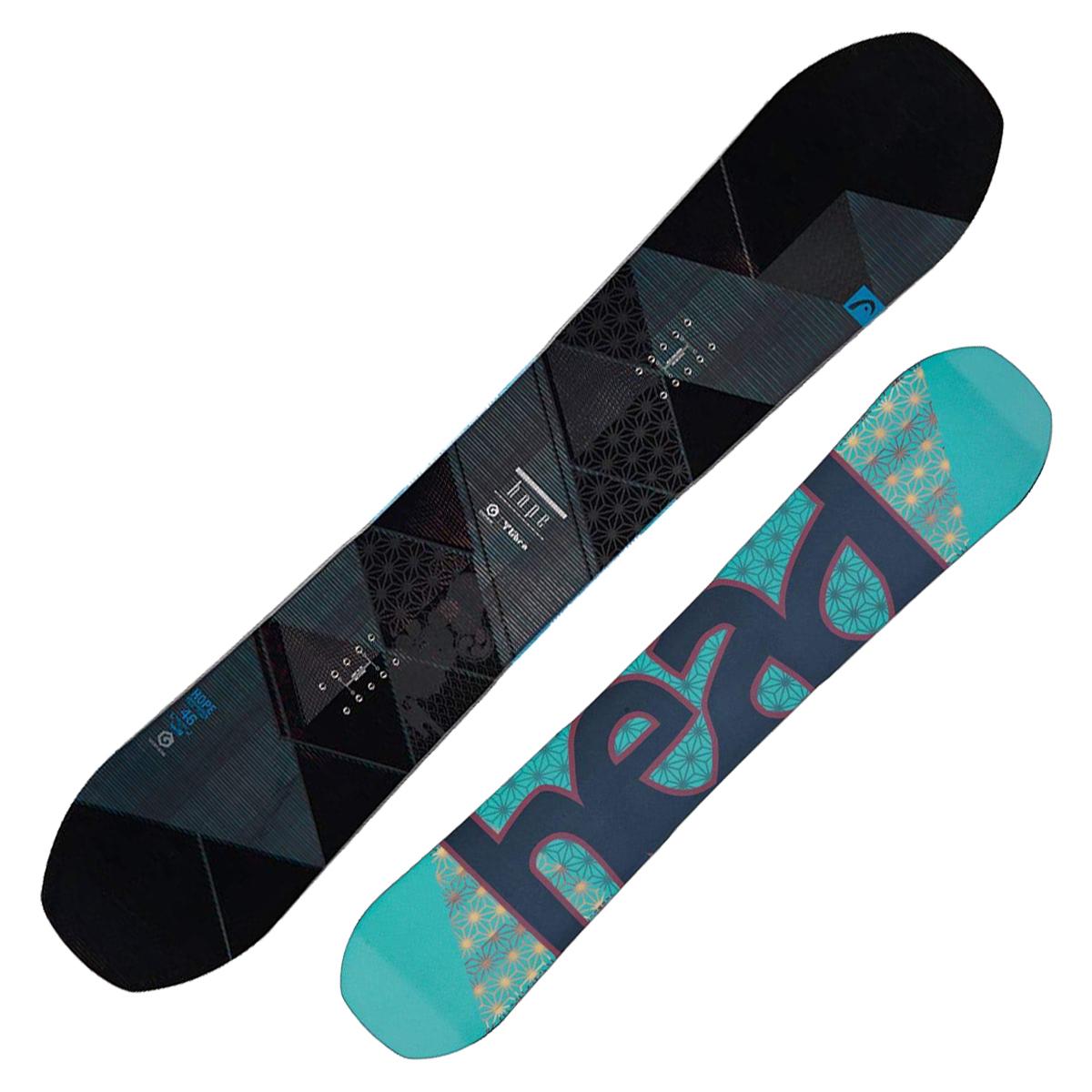 Snowboard Head Hope (Colore: nero-grigio, Taglia: 146)