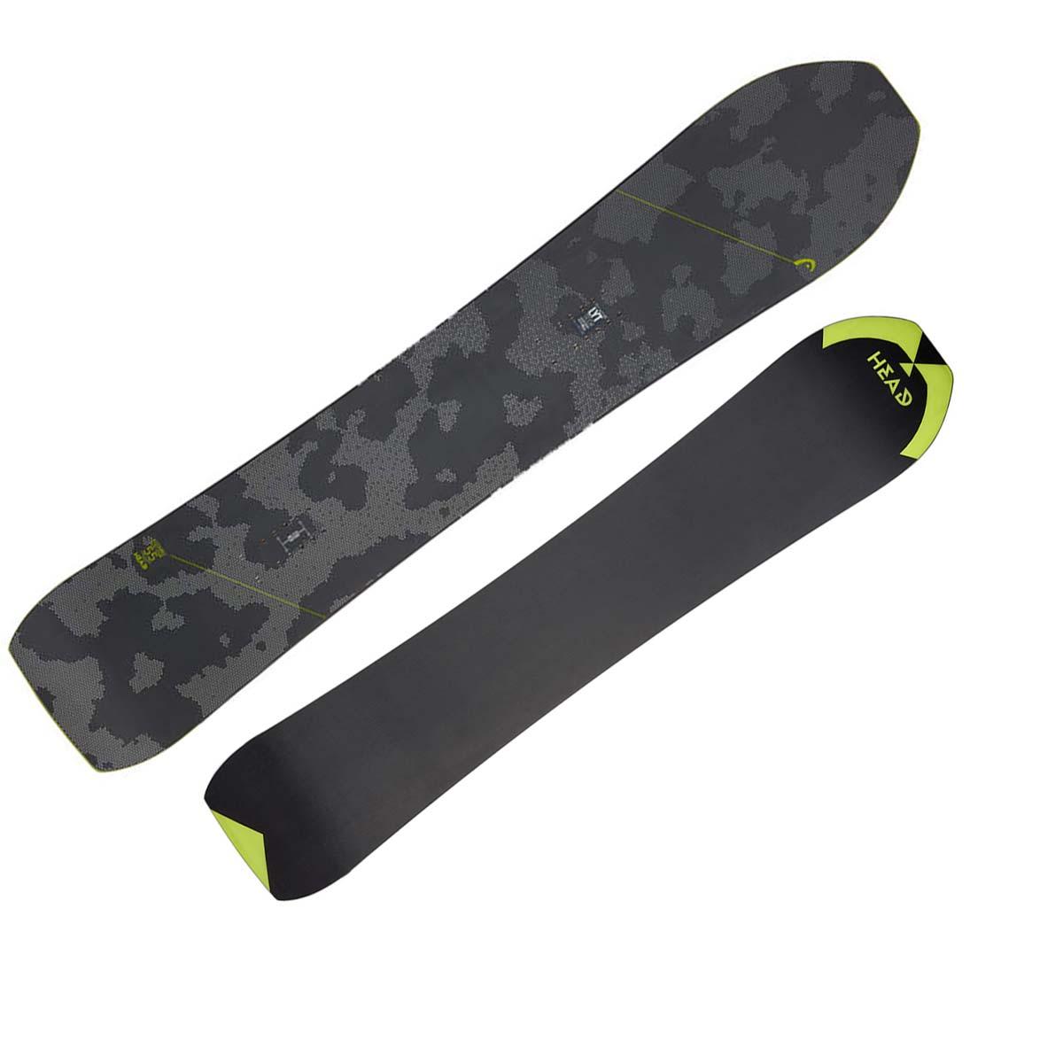 Snowboard Head Kizamu Lyt (Colore: nero grigio, Taglia: 155)