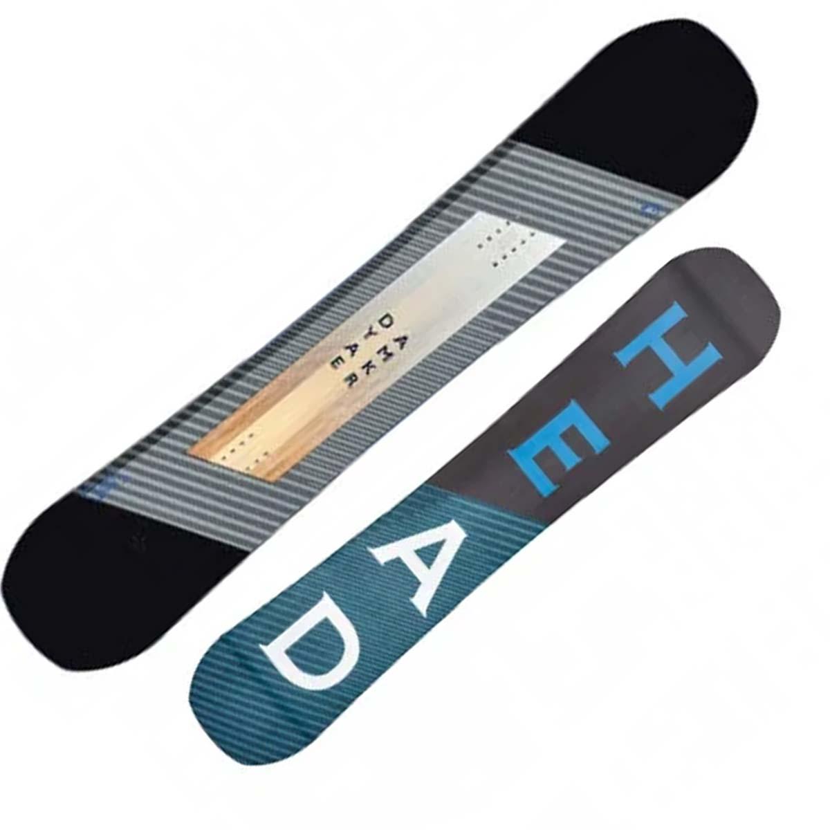 Snowboard Head Daymaker Lyt (Colore: nero grigio legno, Taglia: 156)