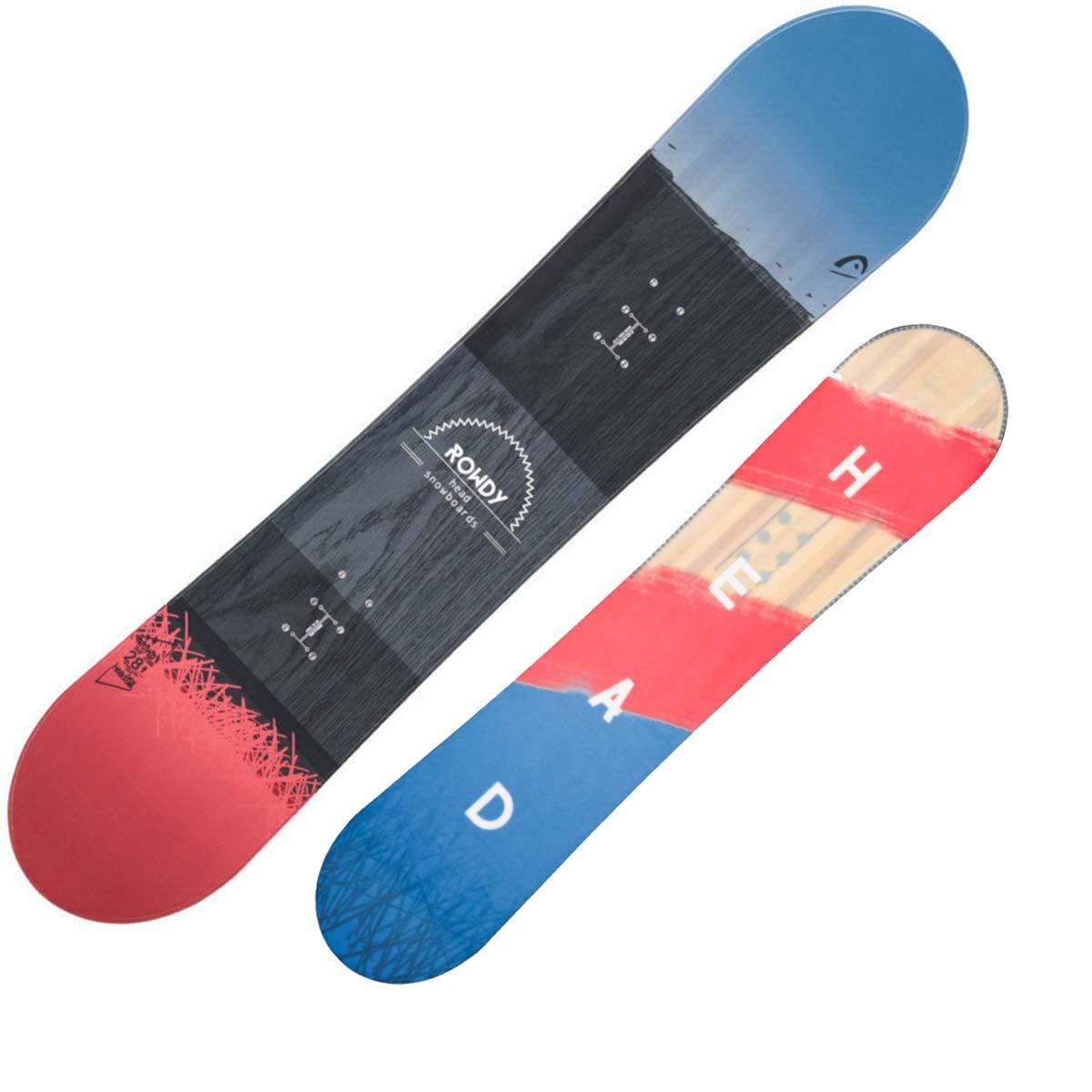Snowboard Head Rowdy da bambino (Colore: nero azzurro rosso, Taglia: 138)