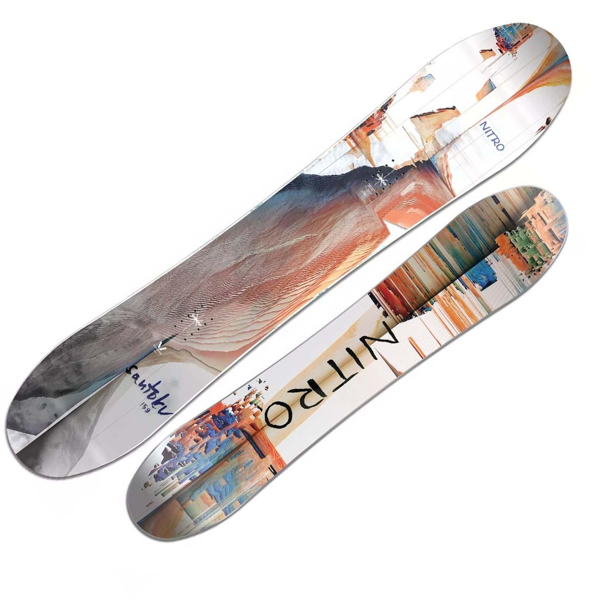Snowboard Nitro Santoku (Colore: fantasia, Taglia: 156)